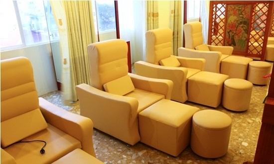 Êm ái thư giãn, xóa tan căng thẳng cùng Ghế Foot Massage trong không gian nhà