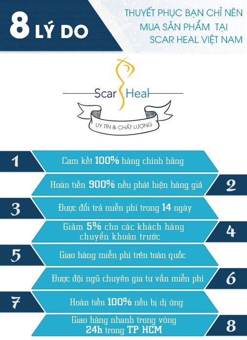 Lý do thuyết phục bạn nên mua hàng tại Scar Heal Việt Nam