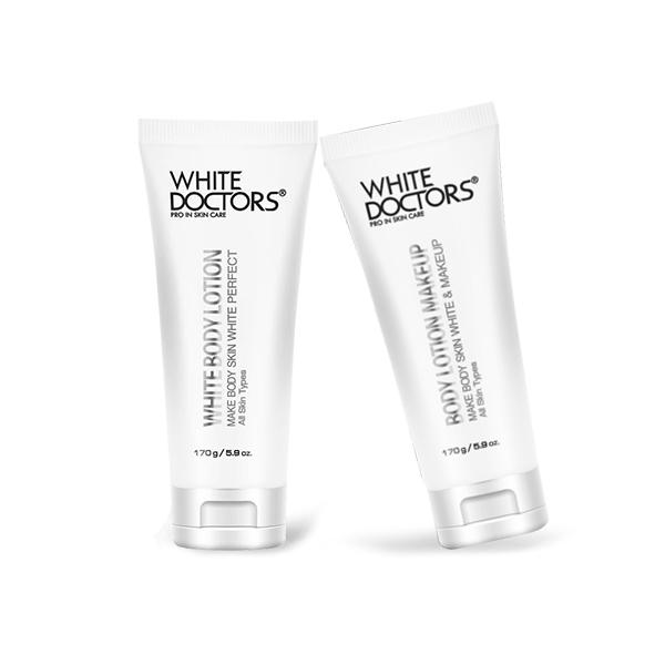 Bộ dưỡng trắng toàn thân ngày và đêm White Doctors (Tặng 1 set tắm trắng 280k)