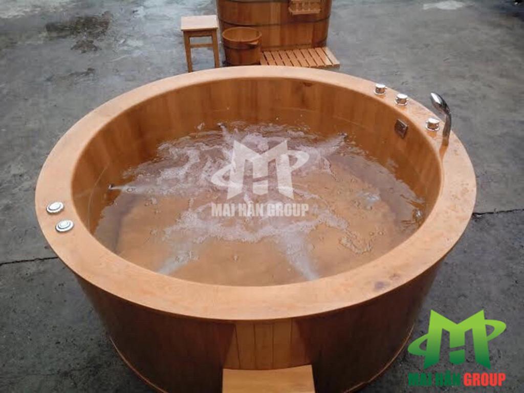 Những điều lưu ý khi tận dụng bồn tắm gỗ vào trong không gian nhà bạn